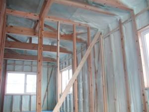 2階屋根面~外壁面