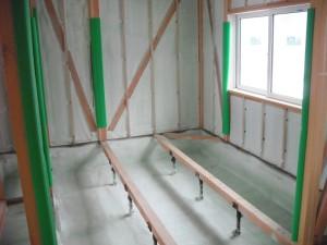 1階基礎~外壁面